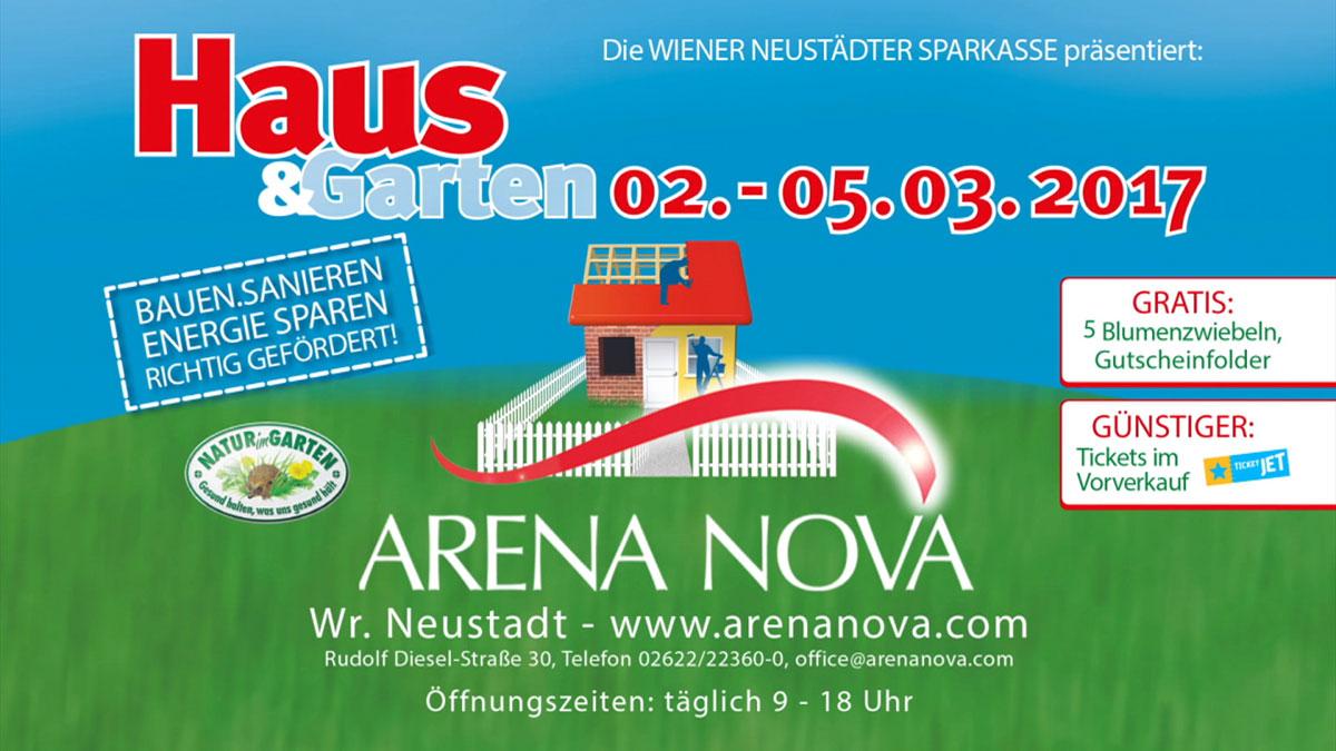 Haus Und Garten Arena Nova Aussteller